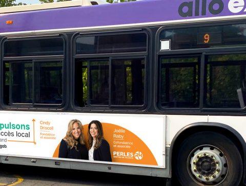 Panneau autobus RGAB